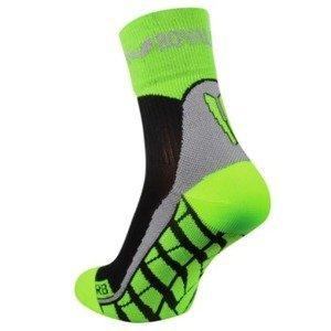 Ponožky ROYAL BAY® Air High-Cut black/green 9688 45-47