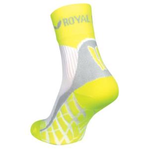 Ponožky ROYAL BAY® Air High-Cut white/yellow 0188 36-38