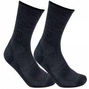 Ponožky LORPEN Merino Blend Light Hiker 2 Pack charcoal L (9,5-12)