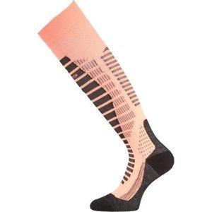 Ponožky Lasting WRO 209 lososové L (42-45)