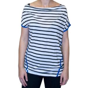 Tričko H.I.S Black stripe M