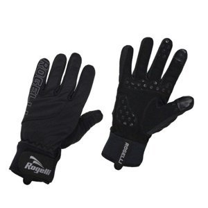 Pánské cyklistické rukavice Rogelli Storm, 006.124. černé S
