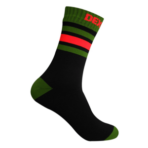 Ponožky DexShell Ultra Dri Sport Sock Black/Blaze orange XL