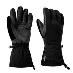 Rukavice Rab Blizzard Glove black/BL XL
