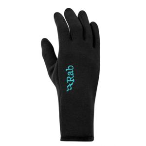 Rukavice Rab Power Stretch Contact Glove Women's black/BL XS