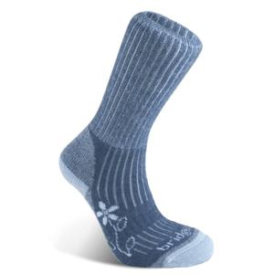 Ponožky Bridgedale Hike Midweight Merino Comfort Boot Women's blue/436 L (7-8,5)
