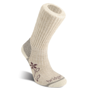 Ponožky Bridgedale Hike Midweight Merino Comfort Boot Women's natural/926 L (7-8,5)