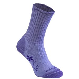 Ponožky Bridgedale Hike Midweight Merino Comfort Boot Women's violet/095 M (5-6,5)