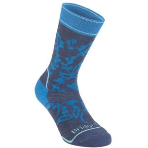 Ponožky Bridgedale Hike Midweight Merino Performance Boot Women's navy/blue/430 M (5-6,5)