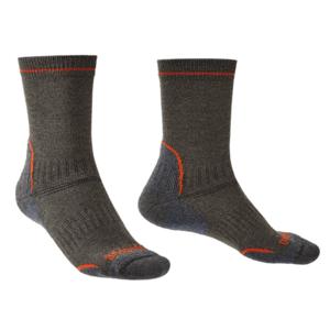 Ponožky Bridgedale Hike Lightweight Coolmax Performance Boot dark grey/826 L (9,5-12)