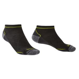 Ponožky Bridgedale Hike Ultralight T2 Coolmax Performance Low graphite/lime/140 S (3,5-6)