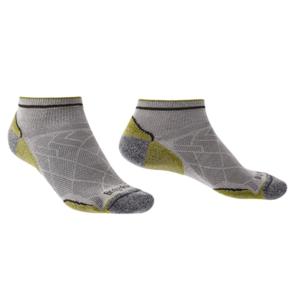 Ponožky Bridgedale Hike Ultralight T2 Coolmax Performance Low grey/green/068 L (9,5-12)