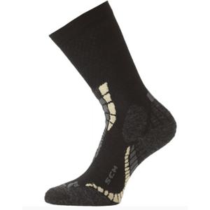 Merino ponožky Lasting SCM 907 černé XL (46-49)