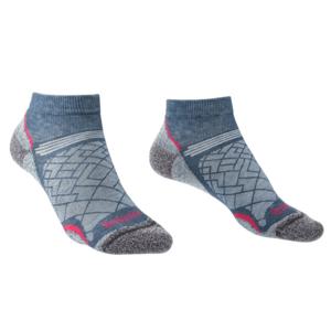 Ponožky Bridgedale Hike Ultralight T2 Coolmax Performance Low Women's dark denim/136 M (5-6,5)