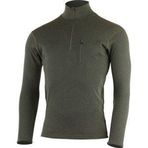 Pánské merino triko Lasting BREND 6969 zelená M