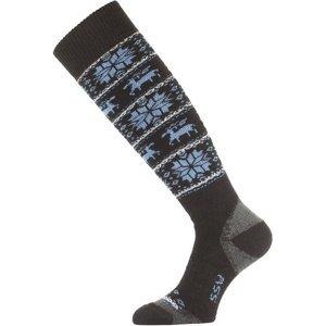 Ponožky Lasting SSW 905 černé M (38-41)