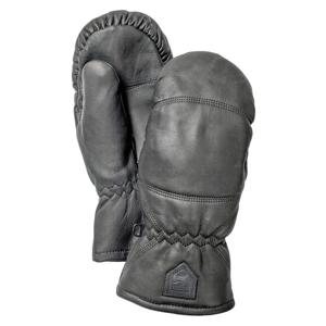 Rukavice Hestra Leather Box Mitt svart 6