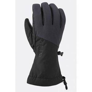 Rukavice Rab Pinnacle GTX Glove black/BL XL