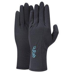 Rukavice Rab Forge 160 Glove Women's ebony/EB L