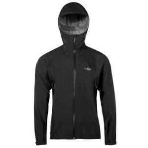 Pánská bunda Rab Downpour Plus Jacket black M