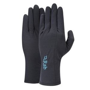 Rukavice Rab Merino+ 160 Glove Women's ebony S