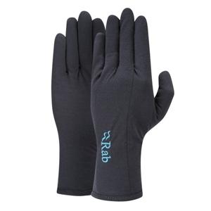 Rukavice Rab Merino+ 160 Glove Women's ebony L