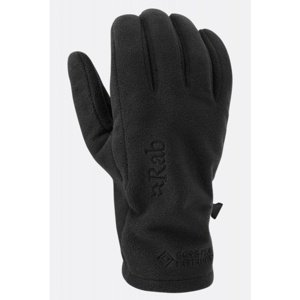 Rukavice Rab Infinium Windproof Glove black/BL XL