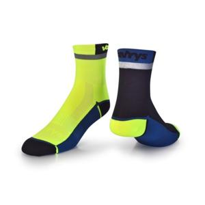 Ponožky VAVRYS CYKLO 2020 2-pa 46220-200 žlutá 37-39