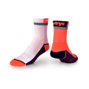Ponožky VAVRYS CYKLO 2020 2-pa 46220-210 oranžová 37-39