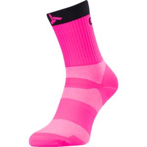Cyklistické ponožky Silvini Orato UA1660 pink-charcoal 36-38