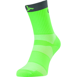 Cyklistické ponožky Silvini Orato UA1660 green-charcoal 36-38