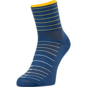 Cyklistické ponožky Silvini Bevera UA1659 navy-yellow 36-38