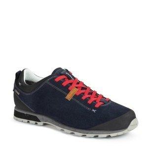 Pánské boty AKU Bellamont Suede GTX tm. modro/červená 10,5 UK