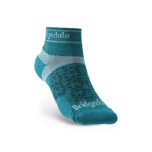 Ponožky Bridgedale TRAIL RUN UL T2 MS LOW Teal/259 S (3-4,5)