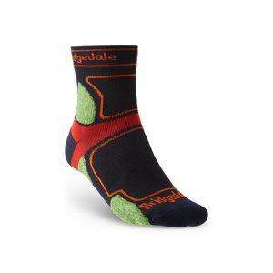 Ponožky Bridgedale TRAIL RUN UL T2 CS 3/4 CREW Navy/445 M (6-8,5)