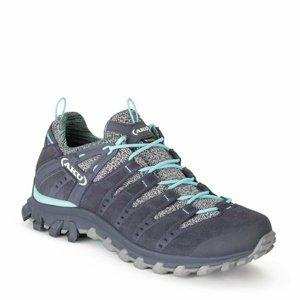 Dámské boty AKU Alterra Lite GTX dámská šedo/sv. modrá 4 UK