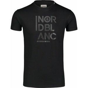 Pánské bavlněné triko Nordblanc OBEDIENT černé NBSMT7258_CRN M