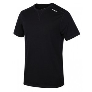 Pánské termo triko Husky Merino černé XL