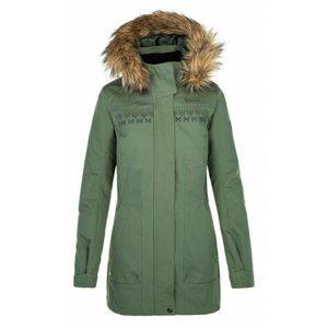 Dámský zimní kabát Kilpi PERU-W khaki 40