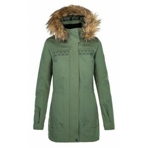 Dámský zimní kabát Kilpi PERU-W khaki 42