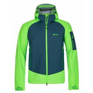 Pánská membránová bunda Kilpi LEXAY-M zelená XXL