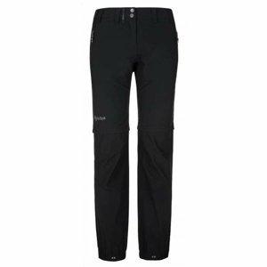Pánské technické outdoorové kalhoty Kilpi HOSIO-M černé XL-short