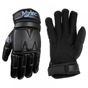 Hokejbalové rukavice Mylec Elite Street Black SR
