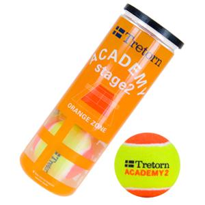 Dětské tenisové míče Tretorn Academy Orange (3 ks)