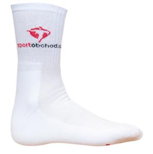 Sportovní ponožky ProfiVent Mystic White - dlouhé bílé