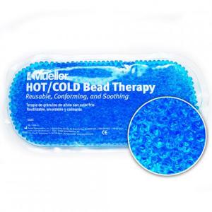Mueller Chladivý / Hřejivý sáček s gelovými kuličkami (modrá)