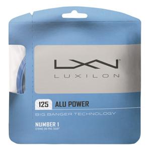 Tenisový výplet Luxilon Alu Power Blue 1.25 mm