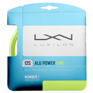Tenisový výplet Luxilon Alu Power Lime LE 1.25 mm 2019
