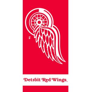 TipTrade Osuška NHL Detroit Red Wings 70 x 140 cm