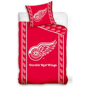 TipTrade Hokejové povlečení NHL Detroit Red Wings - bavlna - 140x200 70x90